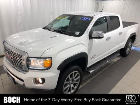 Pre-Owned 2018 GMC Canyon 4WD Crew Cab 140.5 Denali 4WD