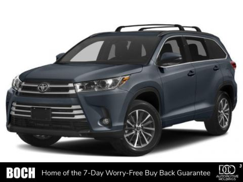 New 2019 Toyota Highlander XLE V6 AWD AWD