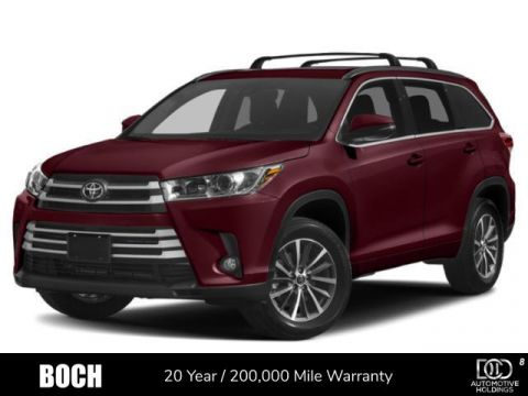 New 2019 Toyota Highlander XLE V6 AWD With Navigation & AWD