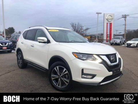 Pre-Owned 2017 Nissan Rogue AWD SL AWD