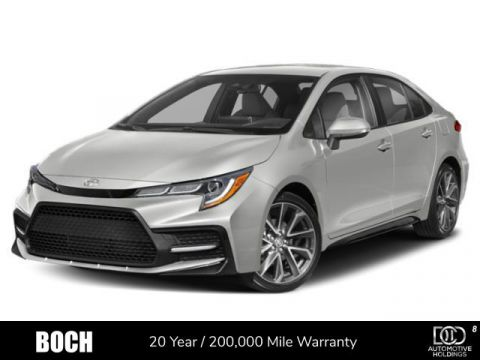 New 2020 Toyota Corolla SE Manual FWD 4dr Car