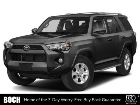 New 2019 Toyota 4Runner SR5 Premium 4WD With Navigation & 4WD